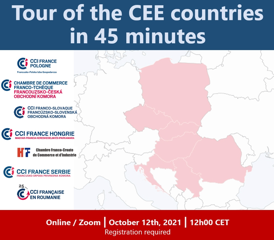 Tour of the CEE countries in 45 minutes #2