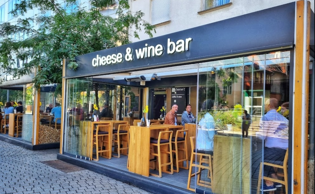 Afterwork wine and cheese